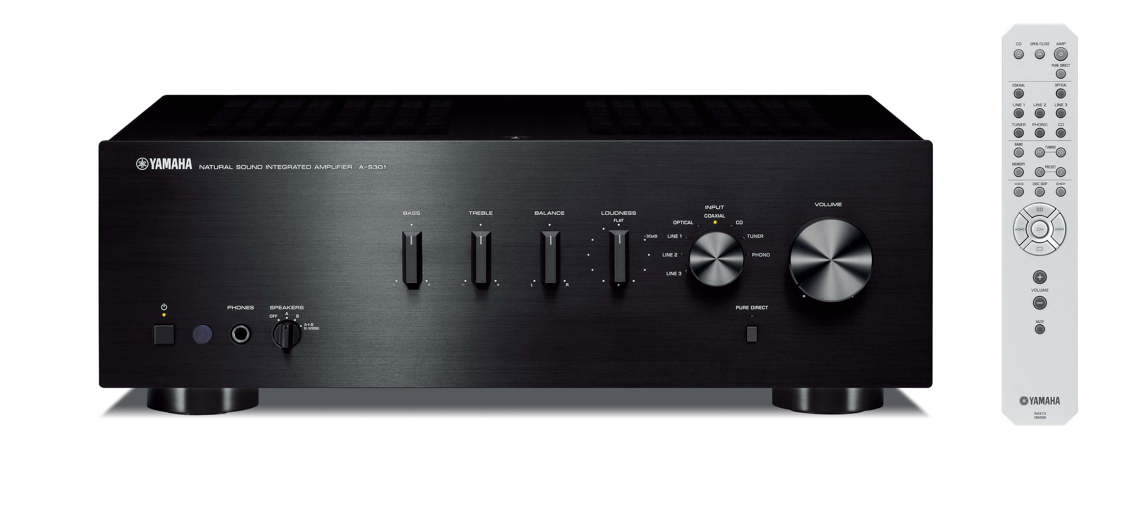 Integrated Amplifier Yamaha A-S301: