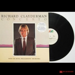 Đĩa than Richard Clayderman, Concerto With The Royal