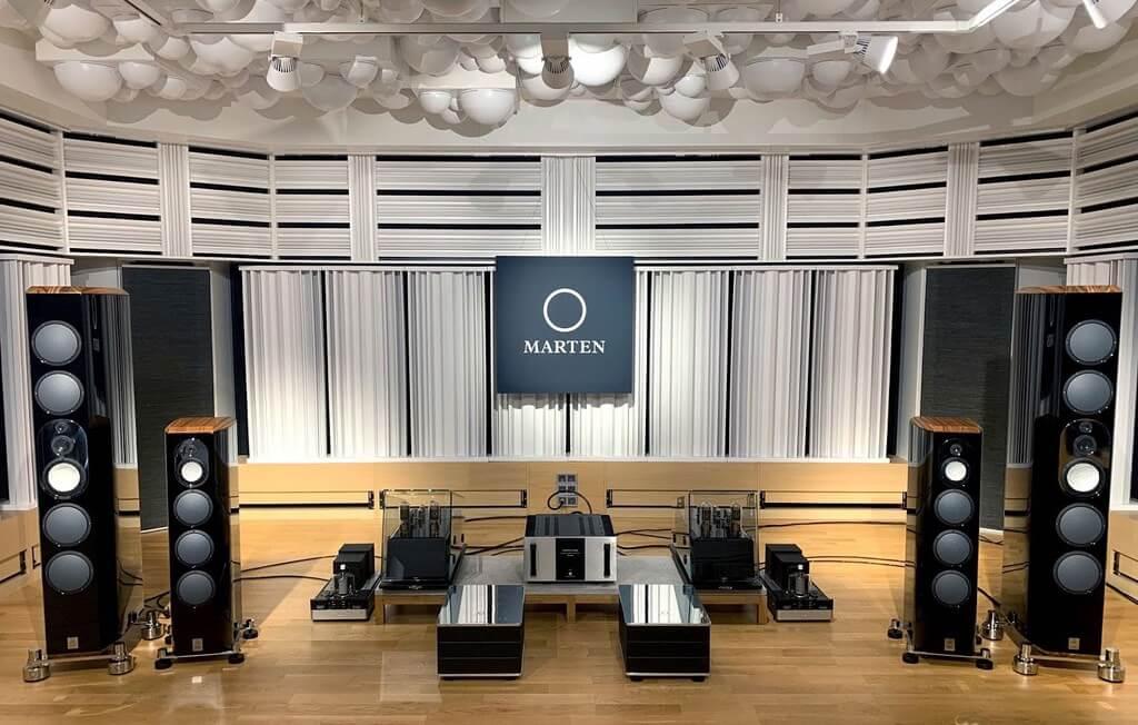 Mingus Orchestra và Mingus Twenty set-up tại phòng nghe của Marten Design