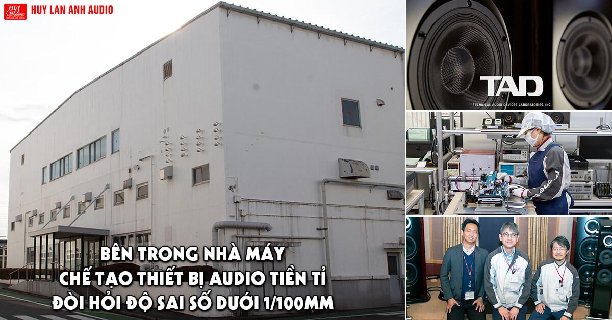 Bên trong nhà máy chế tạo thiết bị audio tiền tỉ, đòi hỏi độ sai số dưới 1/100mm