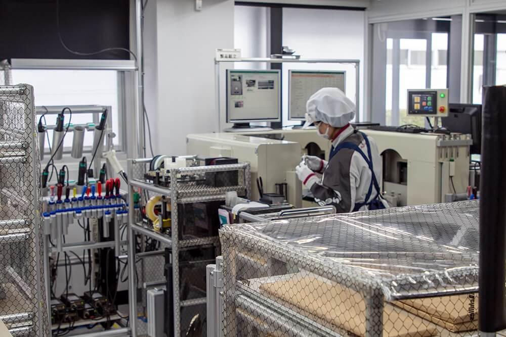 Khu vực sản xuất chính của TAD với trang bị máy móc thiệt bị đạt chuẩn chính xác cao nhất có thể