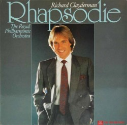 Đĩa than Richard Clayderman Lp, The Rhapsodie, The Royal Philharmonic Orchestra