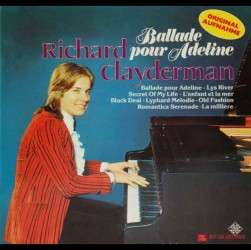 Đĩa than Richard Clayderman Lp, Ballade Pour Adeline
