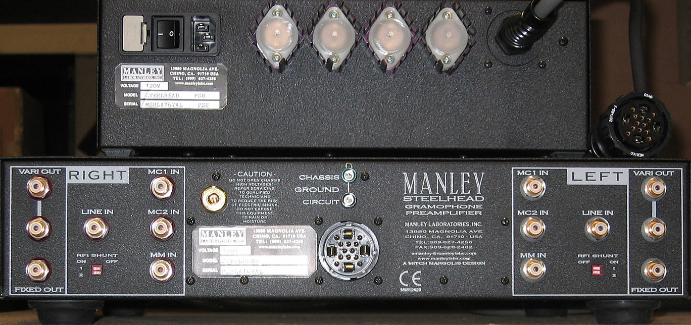 MANLEY STEELHEAD PHONO PREAMP VERSION 2